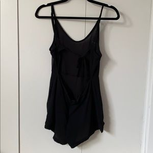 Brandy Melville Cutout Back Romper
